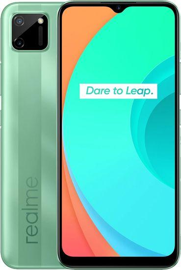 realme C11 pametni telefon, 3GB/32GB, zelen