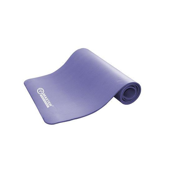 Master podložka na cvičení Yoga NBR 10 mm - 183 x 61 cm - fialová