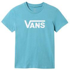 Vans dětské tričko GR FLYING V CREW GIR blue moon XL modrá