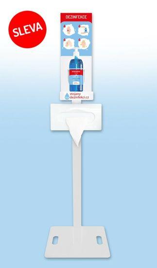 Stojanynadezinfekci STANDARD - bílý + 500ml gel