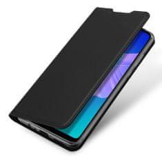 Dux Ducis Skin Pro knjižni usnjeni ovitek za Huawei P40 Lite E, črna
