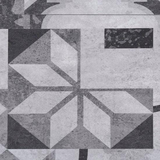shumee Panele podłogowe PVC, 5,02 m², 2 mm, samoprzylepne szary wzór