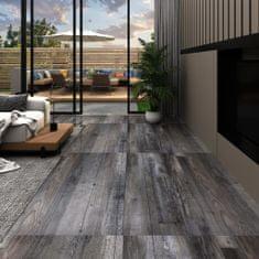 Greatstore Podlahová krytina PVC 5,02 m² 2mm samolepicí industriální dřevo