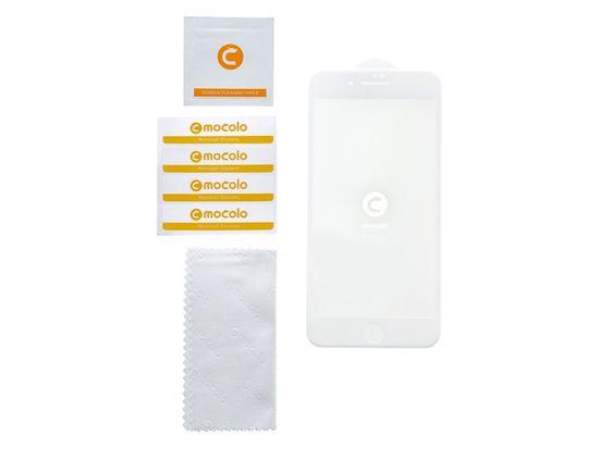 Mocolo Mocolo 5D Tvrzené Sklo White pro iPhone X/XS, 2439921 + DÁREK Noosy 3 x Adaptér na Sim karty 25481.