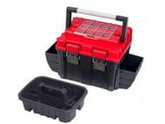 PATROL kufr na nářadí TOOLBOX HD COMPACT 2 CARBO 515x350x350mm