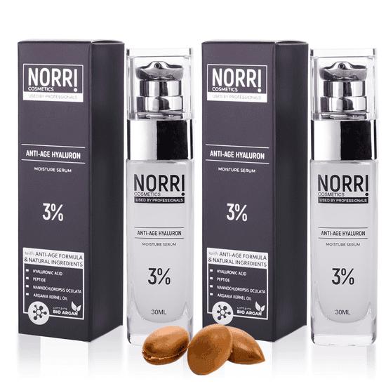 NORRI 2x Anti-age hyaluron 3% 30 ml