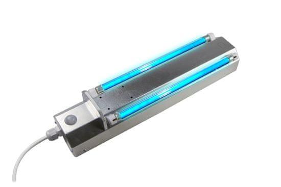 disinfection-system Nástěnný plně automatický, dezinfekční UVC zářič, dvouzářivkový, 16W