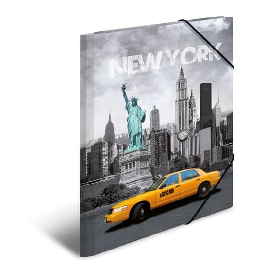 Herma mapa New York, A4, PP