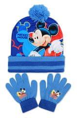 """SETINO Zimski fantovski komplet """"Mickey Mouse"""" - svetlo modra - 54 cm"""