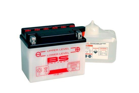 BS-BATTERY Konvenční motocyklová baterie BS-BATTERY Včetně balení kyseliny 700.310569