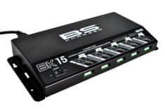 BS-BATTERY Profesionální nabíječka pro 5 baterií BS-BATTERY 5 Bank charger 12V 5x1.5A 700.700534