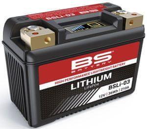 BS-BATTERY Lithiová motocyklová baterie BS-BATTERY 360103