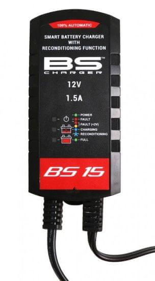 BS-BATTERY Nabíječka baterií BS-BATTERY SMART 12V 1500mA 700.700510