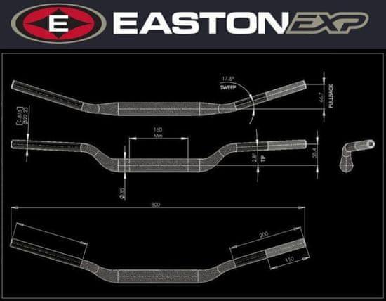 EASTON EXP Řídítka EASTON EXP EXP 2010345
