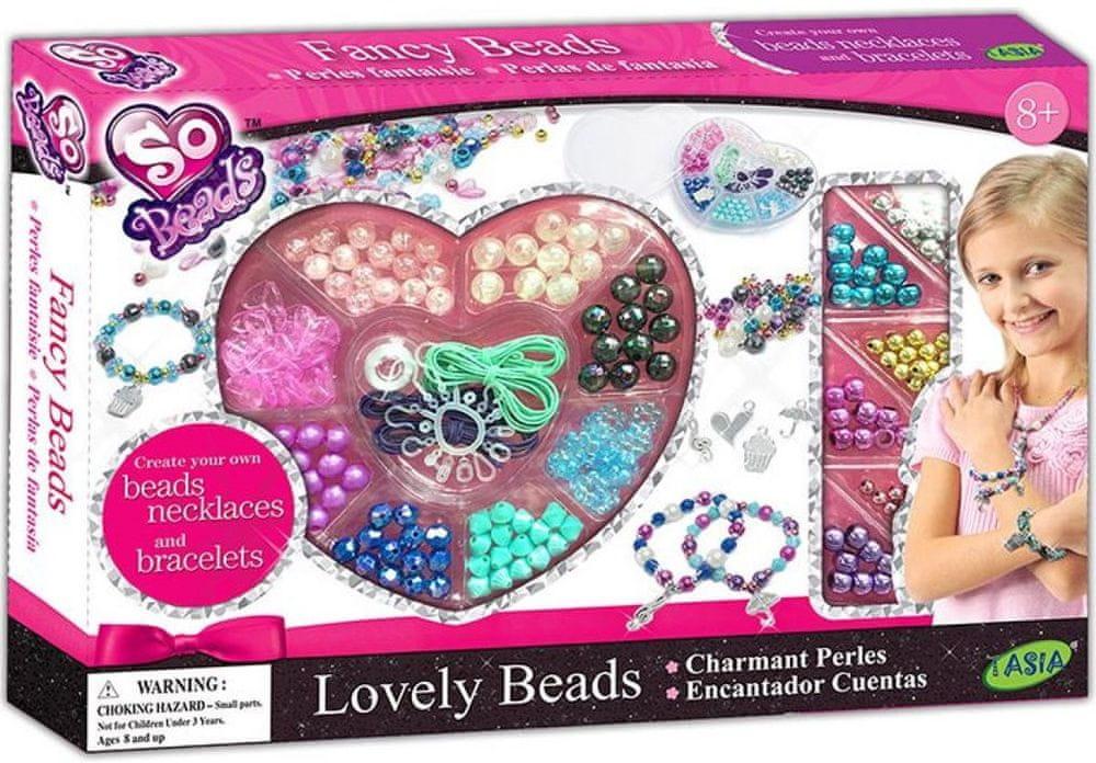 Alltoys Kreativní sada Náramky a náhrdelníky z korálků