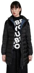 Desigual dámský kabát Padded Lena 20WWEW35 S černá