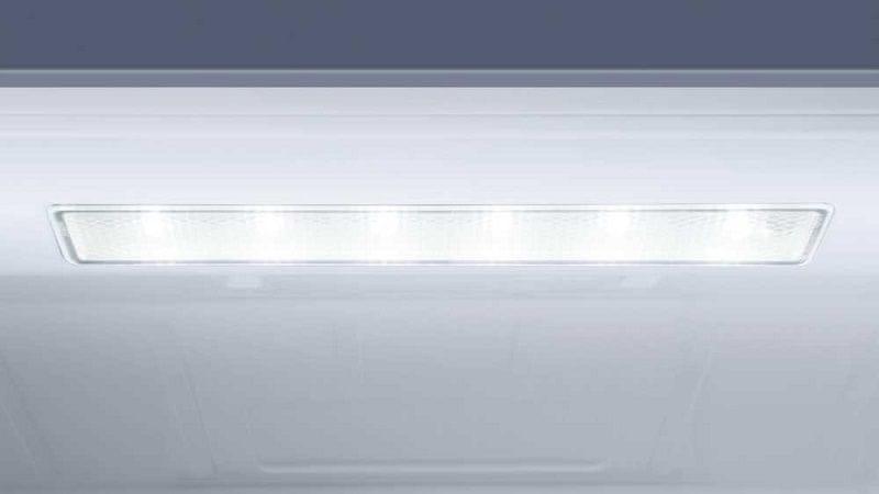 Lednice Haier B3FE742CMJW osvětlení LED