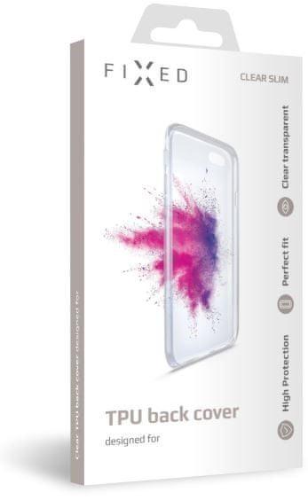 FIXED TPU gelové pouzdro pro Samsung Galaxy M11, čiré, FIXTCC-571
