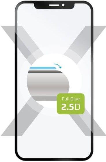 FIXED Ochranné tvrzené sklo Full-Cover pro Sony Xperia L4, přes celý displej, černé, FIXGFA-524-BK