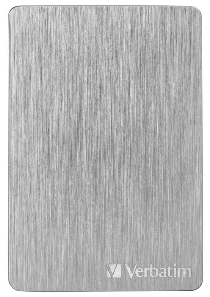 Verbatim Store´n´ Go ALU Slim 1TB, stříbrná (53663)