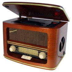 Roadstar retro rádió, HRA-1500MP, retro