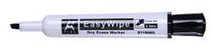 Aplus EasyWhipe C marker za belo tablo, prirezana konica, črn