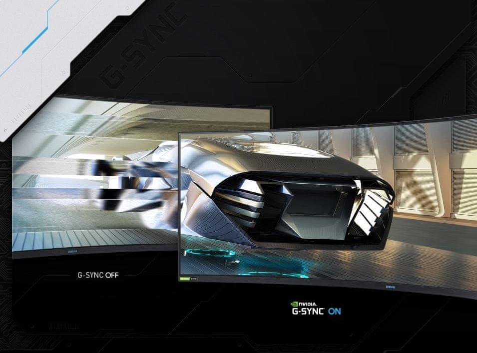 monitor Samsung Odyssey G9 (LC49G95TSSUXEN) synchronizacja fps