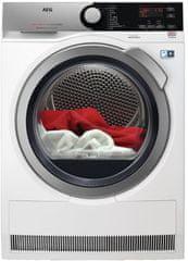 AEG sušička prádla AbsoluteCare T8DEE68SC + 5 let záruka + 10 let záruka na invertorový motor