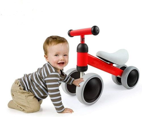 Tavalax Baby Balance kolo, rdeča