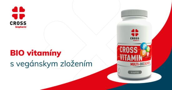 Cross biopharm Vitamin Multi - Bio Zázvor 90 kapsul
