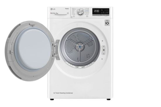 LG sušička prádla RC81V5AV0Q + 10 let záruka na motor a kompresor