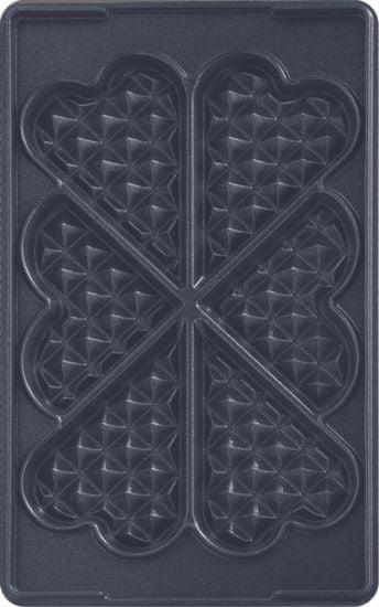 TEFAL XA 8006 ACC Snack Collection Heartwaffles Gofrisütő lap