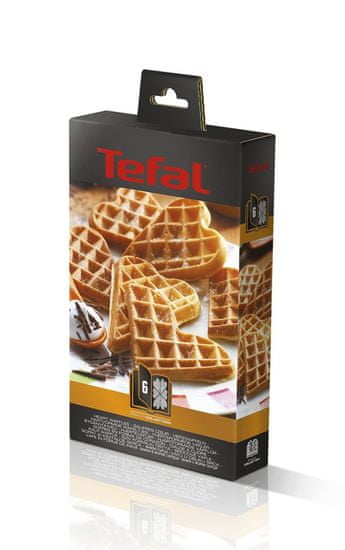 TEFAL XA 8006 ACC Snack Collection Heartwaffles Gofrisütő lap