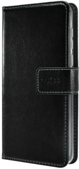 FIXED Pouzdro typu kniha Opus pro Honor 9X Lite, černé, FIXOP-547-BK