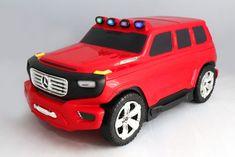 Beneo Dětské Licencované odrážedlo a kufřík 2v1 Mercedes-Benz Ener-G-Force červené
