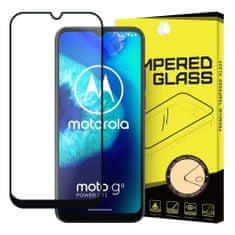 MG Full Glue Super Tough zaščitno steklo za Motorola Moto G8 Power Lite, črna