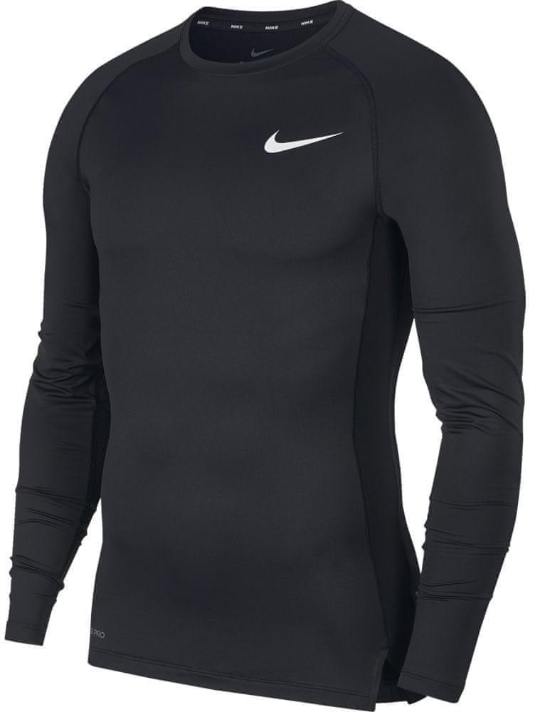 Nike pánské tričko Pro LS XXL černá