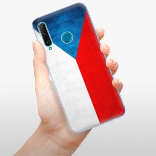 iSaprio Silikonowe etui - Czech Flag na Honor 20e