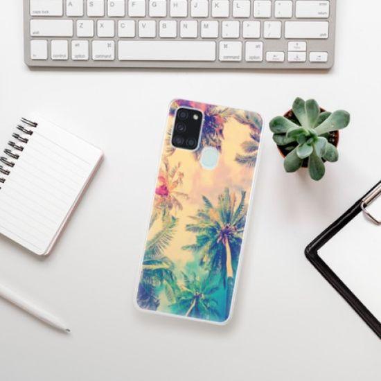 iSaprio Silikonowe etui - Palm Beach na Samsung Galaxy A21s