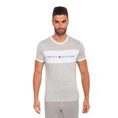 Tommy Hilfiger Pánské tričko šedé (UM0UM01170 004) - velikost M