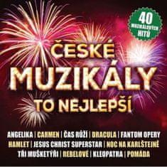 Various: České muzikály - To nejlepší - 2 CD