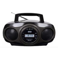 Silva Schneider MPC 17.7 BT prenosni radio, črno-siv