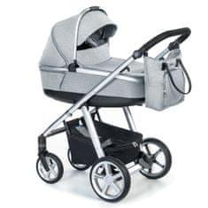 Espiro wózek dziecięcy NEXT MELANGE 07 – GRAY CENTER 2020
