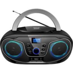 Silva Schneider MPC 19.4 prenosni radio, USB, črno-srebrn