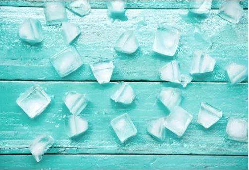 Posoda za led
