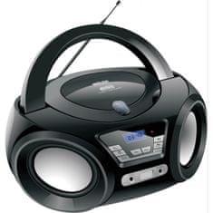 Silva Schneider PCD 19.1 prenosni radio, črn