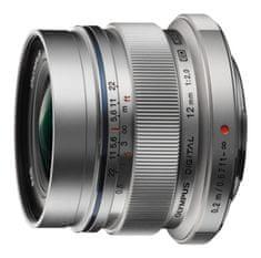 Olympus objektiv 12 mm M.Zuiko Digital f/2,0 Silver