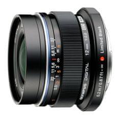 Olympus objektiv 12 mm M.Zuiko Digital f/2,0 Black