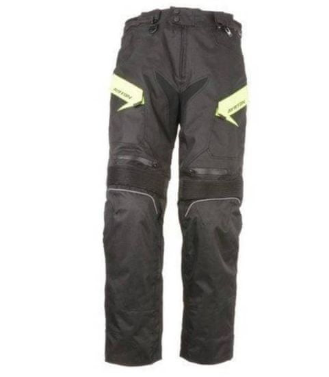 Ayrton ZKRÁCENÉ kalhoty Brock, AYRTON (černé/šedé) L