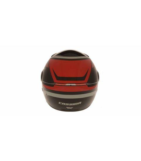 Cassida Přilba Reflex, CASSIDA (černá/červená/šedá) S